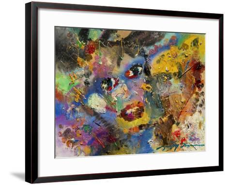 Multimedia Faces of You-Lucy P. McTier-Framed Art Print