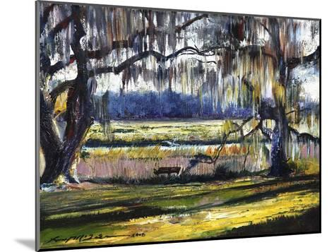 Lowcountry Spanish Moss Escape-Lucy P. McTier-Mounted Giclee Print