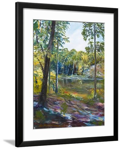 The Fishing Hole-Lucy P. McTier-Framed Art Print