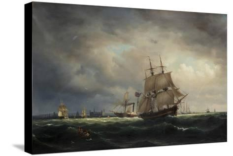 Vyav Oresund-Marcus Larson-Stretched Canvas Print