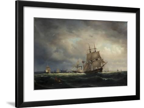 Vyav Oresund-Marcus Larson-Framed Art Print