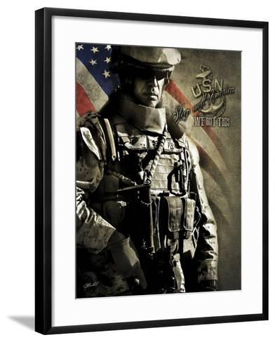 Rest Well America 1-Jason Bullard-Framed Art Print