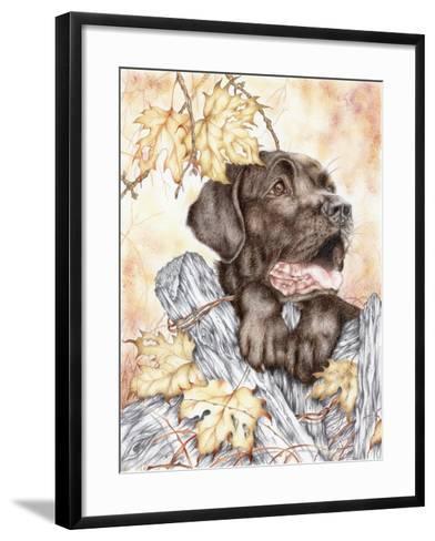 Look Back-Karen Middleton-Framed Art Print