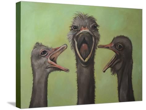 3 Tenors-Leah Saulnier-Stretched Canvas Print