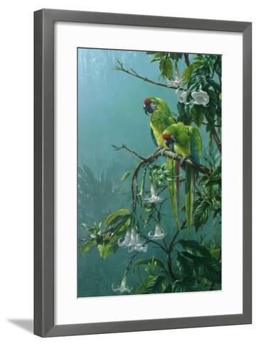Buffons Macaws-Michael Jackson-Framed Art Print