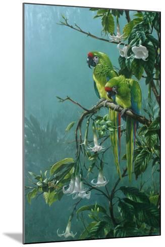 Buffons Macaws-Michael Jackson-Mounted Giclee Print
