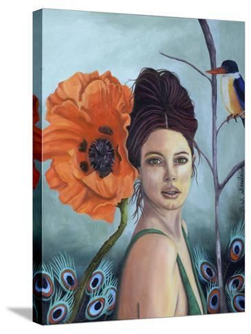 Poppy-Leah Saulnier-Stretched Canvas Print
