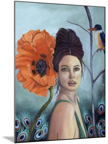 Poppy-Leah Saulnier-Mounted Giclee Print