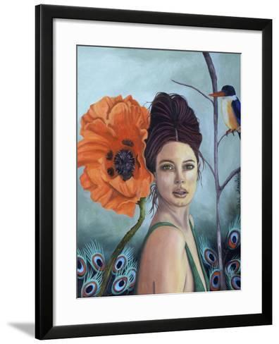 Poppy-Leah Saulnier-Framed Art Print