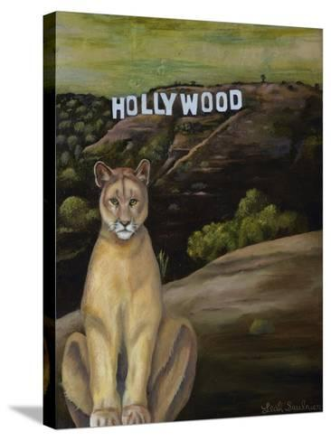 Ghost Cat-Leah Saulnier-Stretched Canvas Print