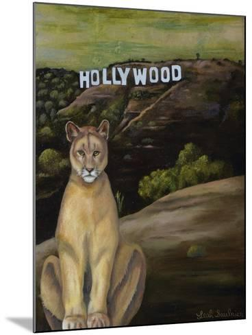 Ghost Cat-Leah Saulnier-Mounted Giclee Print