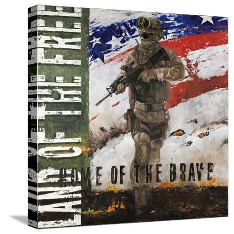 Home of the Brave-Jason Bullard-Stretched Canvas Print