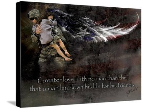 Military Rescue-Jason Bullard-Stretched Canvas Print