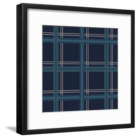 Blue Gold-Jennifer Nilsson-Framed Art Print