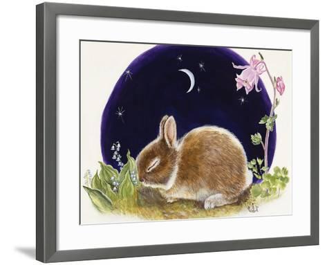 Sleeping Bunny-Judy Mastrangelo-Framed Art Print