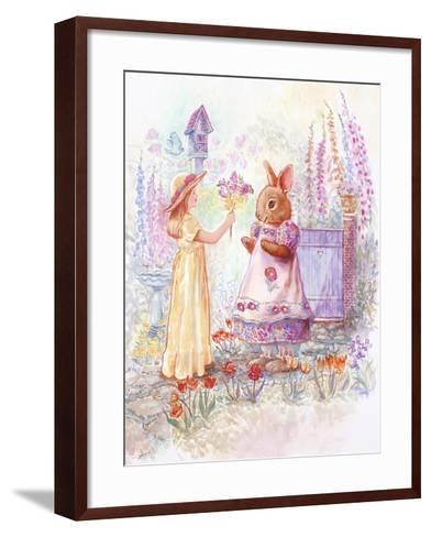 Spring Bouquet-Judy Mastrangelo-Framed Art Print