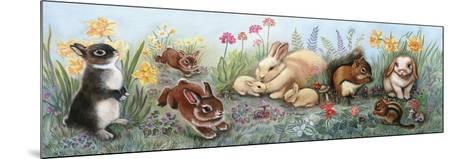 Little Animals Border-Judy Mastrangelo-Mounted Giclee Print