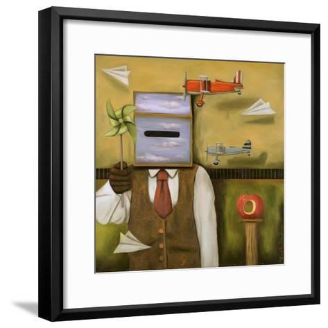 Airspace-Leah Saulnier-Framed Art Print