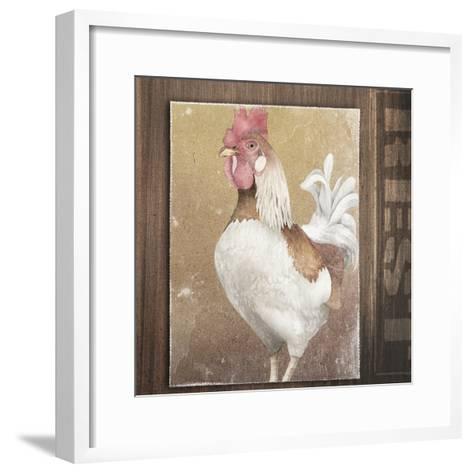 Rooster II-Kory Fluckiger-Framed Art Print