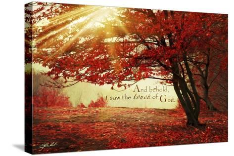 Touch of God-Jason Bullard-Stretched Canvas Print