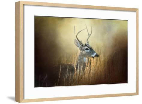 Doe Chasing-Jai Johnson-Framed Art Print