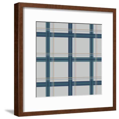 Grey Blue-Jennifer Nilsson-Framed Art Print