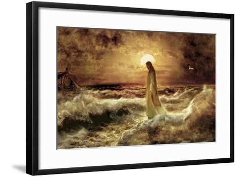 Christ on Water-Jason Bullard-Framed Art Print