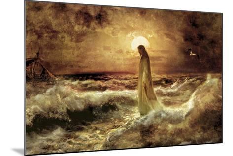Christ on Water-Jason Bullard-Mounted Giclee Print