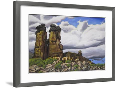 Stone Forest-Luis Aguirre-Framed Art Print