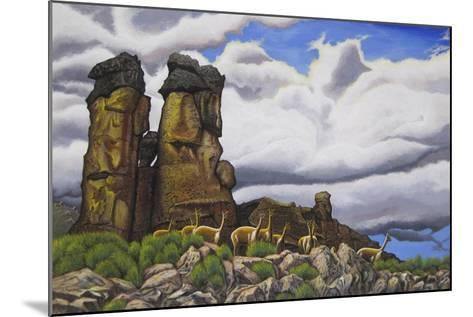 Stone Forest-Luis Aguirre-Mounted Giclee Print