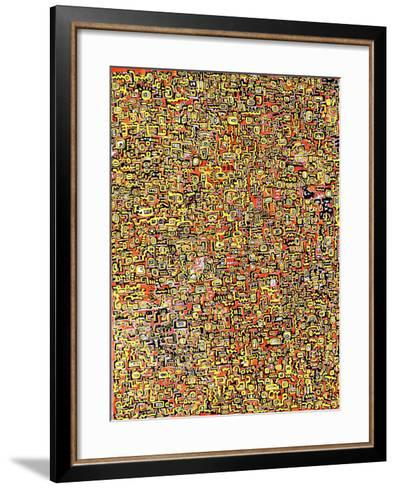 Abstract 22915-Miguel Balb?s-Framed Art Print
