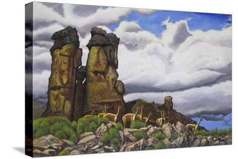 Stone Forest-Luis Aguirre-Stretched Canvas Print