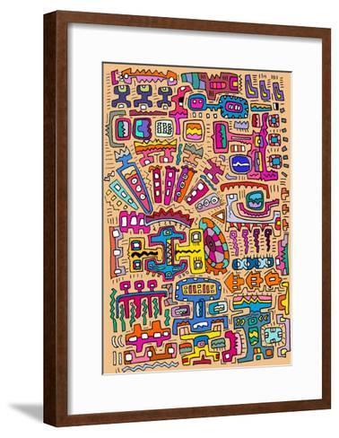 Circuits II-Miguel Balb?s-Framed Art Print