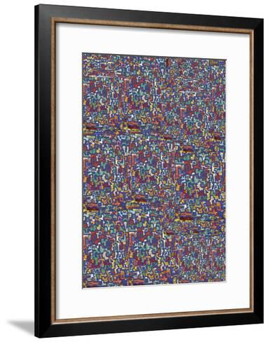 Abstract 3815-Miguel Balb?s-Framed Art Print