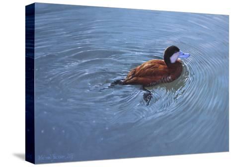 Duck-Michael Jackson-Stretched Canvas Print