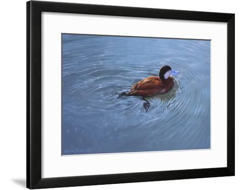 Duck-Michael Jackson-Framed Art Print