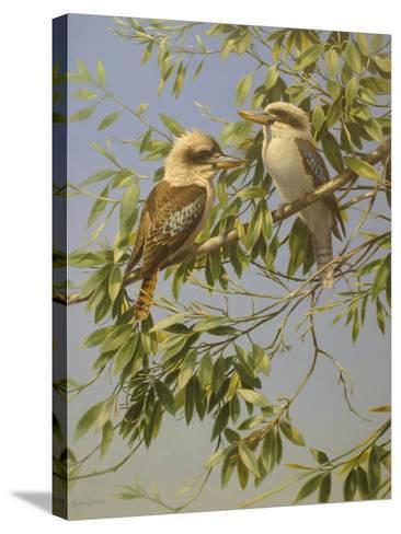 Birds-Michael Jackson-Stretched Canvas Print