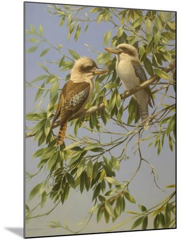 Birds-Michael Jackson-Mounted Giclee Print