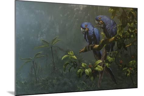 Blue Birds-Michael Jackson-Mounted Giclee Print