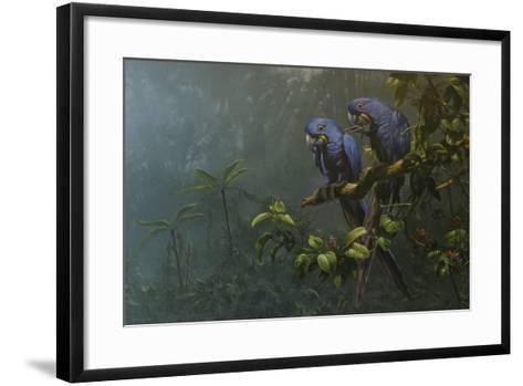 Blue Birds-Michael Jackson-Framed Art Print