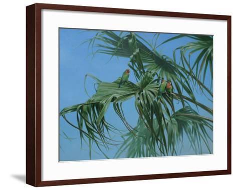 Lovebirds 2-Michael Jackson-Framed Art Print