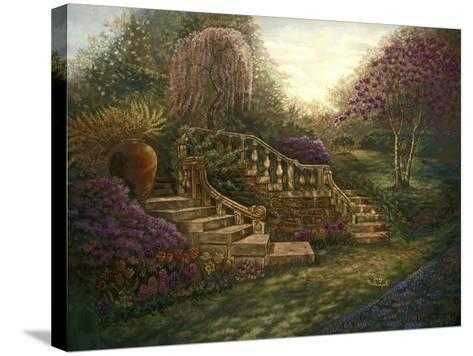 April Garden-Judy Mastrangelo-Stretched Canvas Print