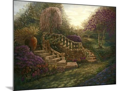 April Garden-Judy Mastrangelo-Mounted Giclee Print