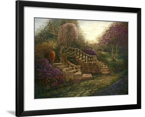 April Garden-Judy Mastrangelo-Framed Art Print