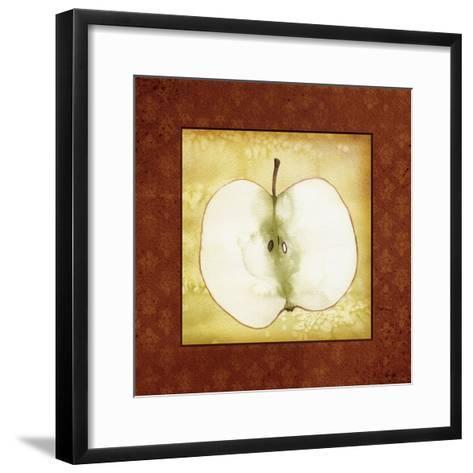 Slice Apple-Kory Fluckiger-Framed Art Print