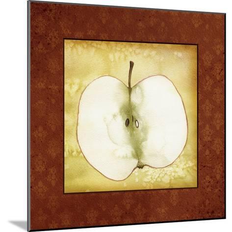 Slice Apple-Kory Fluckiger-Mounted Giclee Print