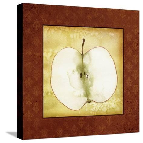 Slice Apple-Kory Fluckiger-Stretched Canvas Print