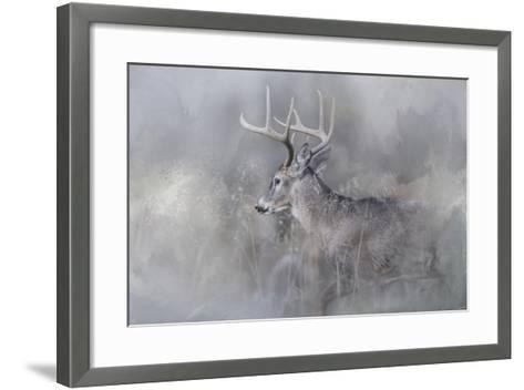 Meeting Winter Head On-Jai Johnson-Framed Art Print