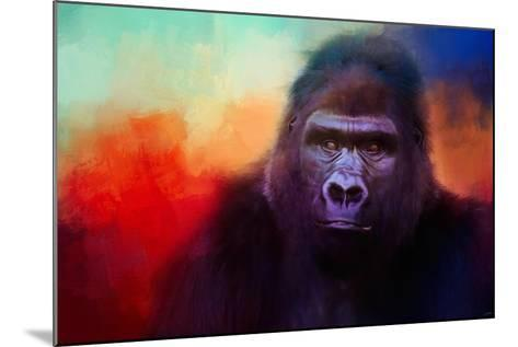 Colorful Expressions Gorilla-Jai Johnson-Mounted Giclee Print