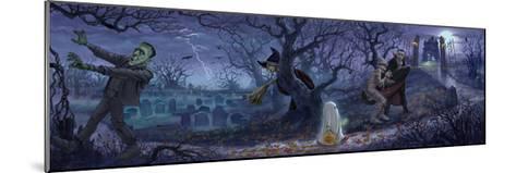 Halloween Scene-Jason Bullard-Mounted Giclee Print